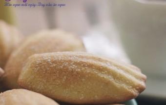 Làm bánh ngọt, Bánh madeleine - bạn đã thử nhâm nhi cùng trà kết quả