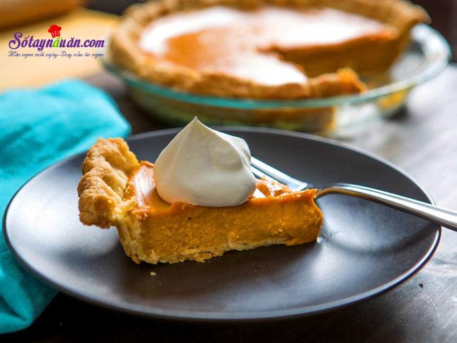 Cách làm bánh pie bí ngô ngon không thể chối từ 9