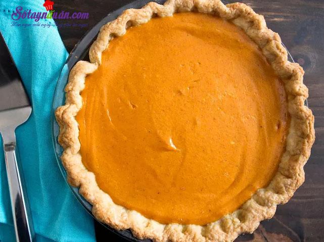 Cách làm bánh pie bí ngô ngon không thể chối từ 7