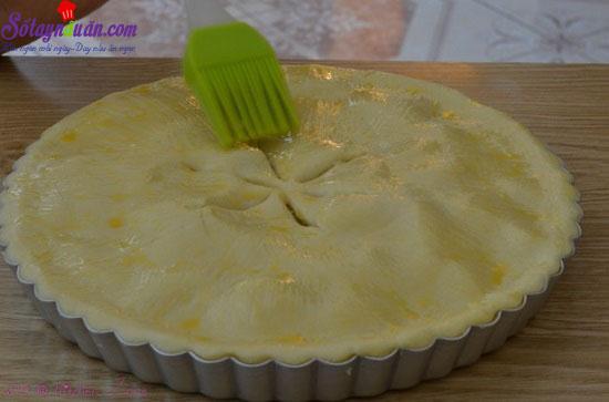 cách làm bánh táo tapioca 15