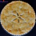 bánh crepe sầu riêng, cách làm bánh táo tapioca 16