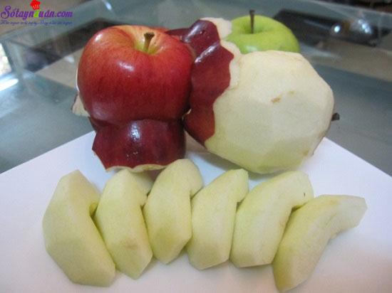 cách làm bánh táo tapioca 4