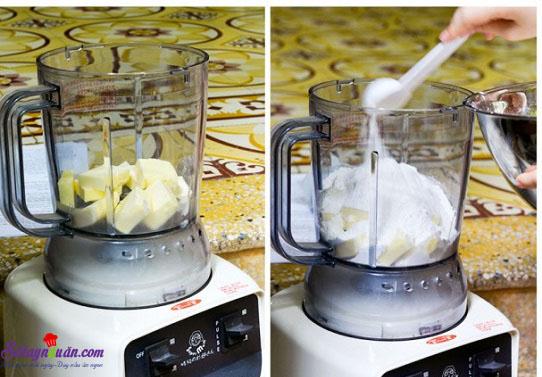 cách làm bánh táo tapioca 6