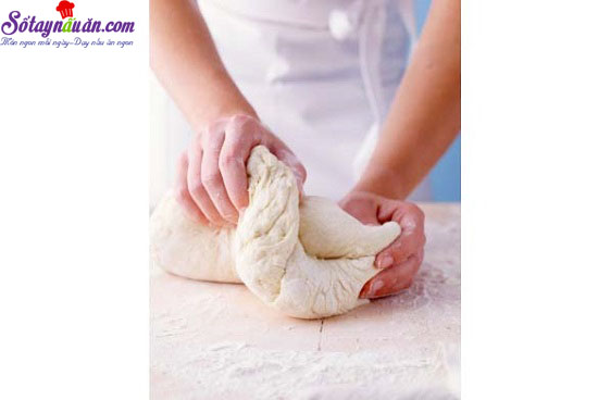 cách làm bánh táo tapioca 7
