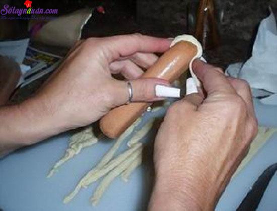 cách làm bánh mì ai cập 5