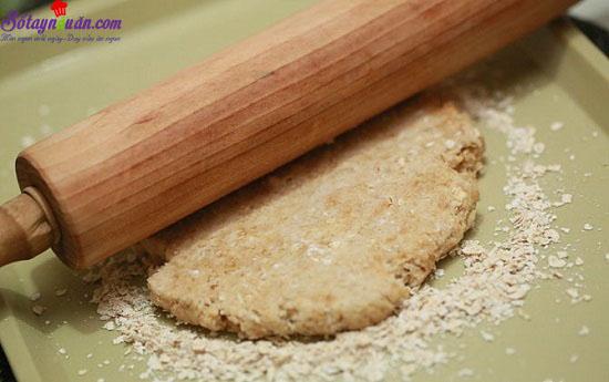 cách làm bánh yến mạch 1