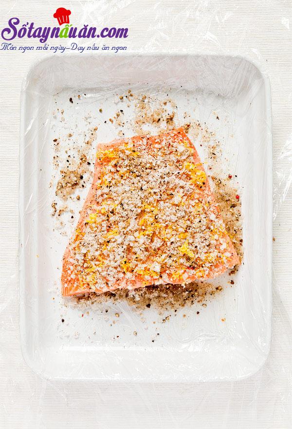 Cách làm cá hồi muối Gravlax ngon mê mẩn 5