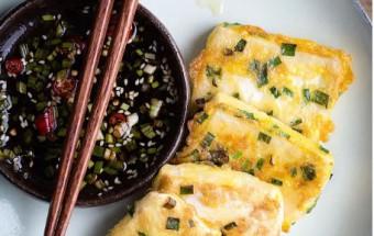 Nấu ăn món ngon mỗi ngày với muối tiêu, Đậu rán với trứng - đơn giản mà tuyệt ngon 5