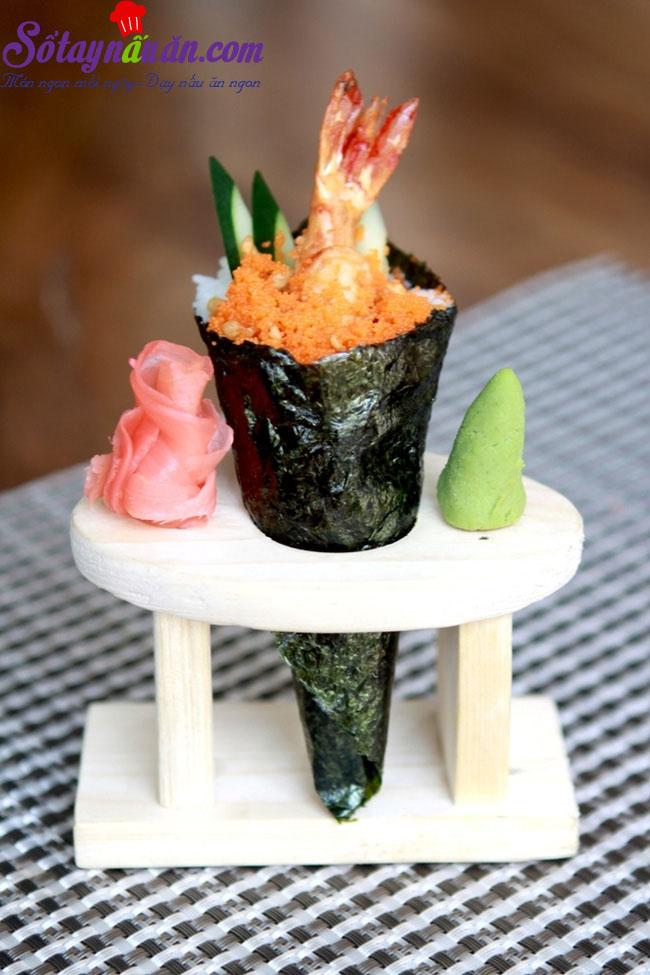 Làm sushi cuộn với nấm cực kì thơm ngon và giản đơn kết quả