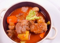 Thịt bò hầm nấm kiểu pháp ngon mê ly