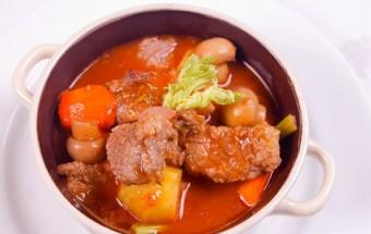 Nấu ăn món ngon mỗi ngày với Bơ, cách làm thịt bò hầm nấm kiểu Pháp 18