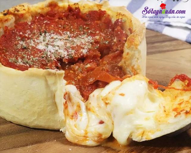 Tự tay làm pizza của Chicago ngon tuyệt hảo kết quả