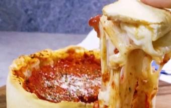 món ngon dễ làm, Tự tay làm pizza của Chicago ngon tuyệt hảo kết quả