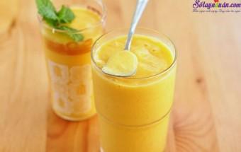 Nấu ăn món ngon mỗi ngày với Sữa chua, cách làm sinh tố dứa 3