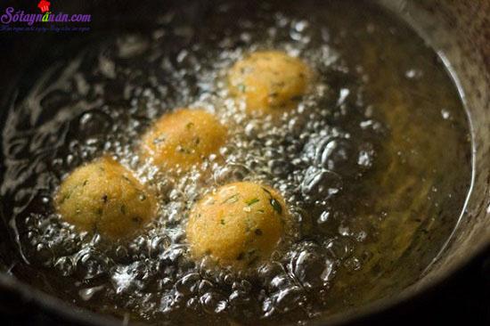 cách làm bánh khoai tây phô mai viên 5