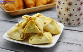 Nấu ăn món ngon mỗi ngày với Bơ, cách làm bánh nướng nhân mặn 11