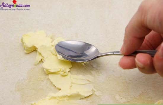 cách làm bánh nướng nhân mặn 8