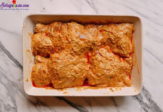 cách làm gà tandoori 1