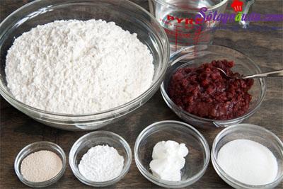 Bánh bao nhân đậu đỏ thơm ngon số một thành phẩm