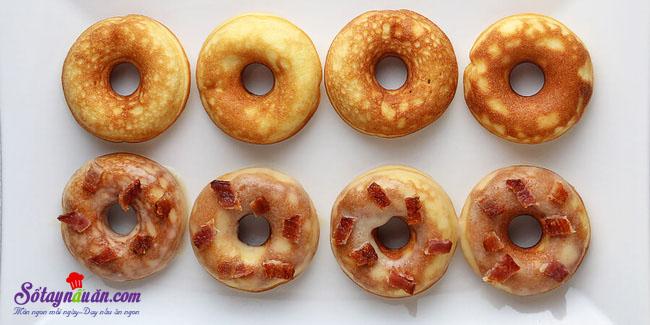 Bánh donut vừa ngon mà không lo béo kết quả