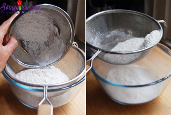 cách làm bánh ngọt cacao 1