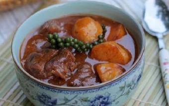Nấu ăn món ngon mỗi ngày với Khoai tây, cách làm bò hầm tiêu xanh 7