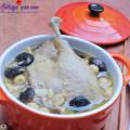 hướng dẫn làm cánh gà sốt nấm, cách làm vịt hầm hạt sen 5