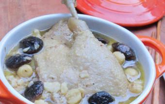 Nấu ăn món ngon mỗi ngày với Nấm hương, cách làm vịt hầm hạt sen 5