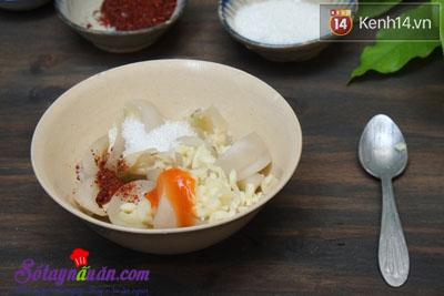 Cách làm cà dầm chua ngọt ngon tuyệt hảo 6