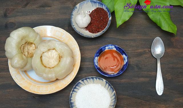 Cách làm cà dầm chua ngọt ngon tuyệt hảo nguyên liệu