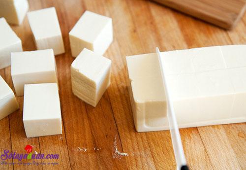 Cách làm đậu hũ hấp tôm giúp giảm béo 1