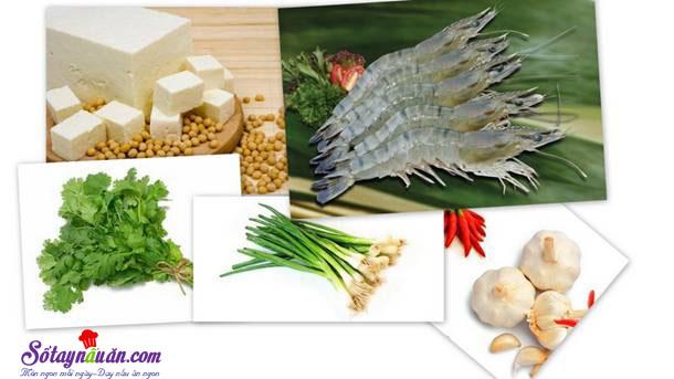 Cách làm đậu hũ hấp tôm giúp giảm béo 3