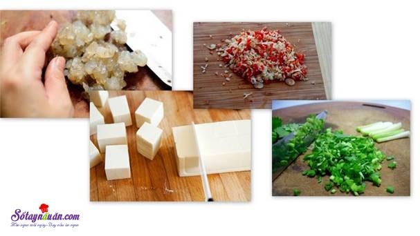 Cách làm đậu hũ hấp tôm giúp giảm béo 4