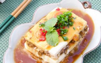 ẩm thực việt, Cách làm đậu hũ hấp tôm giúp giảm béo 5