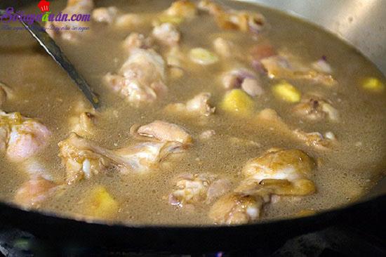 cách làm gà om hạt dẻ 11
