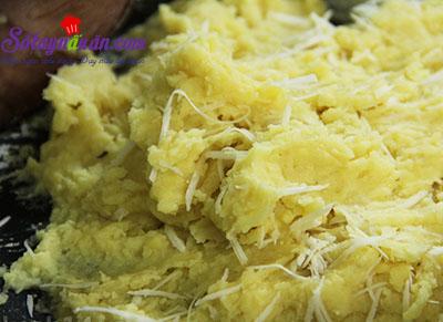 Học cách làm bánh trôi tàu lá dứa siêu ngon 5