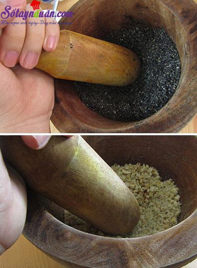 Học cách làm bánh trôi tàu lá dứa siêu ngon 7