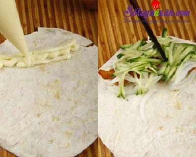 Hướng dẫn làm burrito thịt gà của Mexico ngon mê mẩn 5