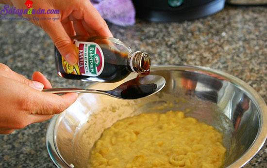 cách làm bánh chuối nướng 3