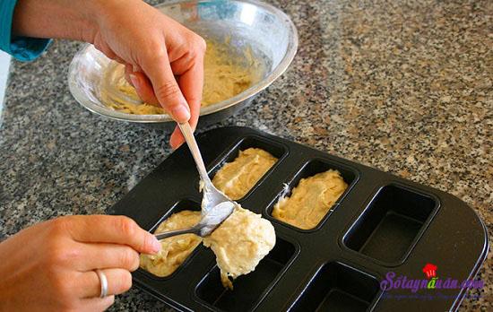cách làm bánh chuối nướng 6