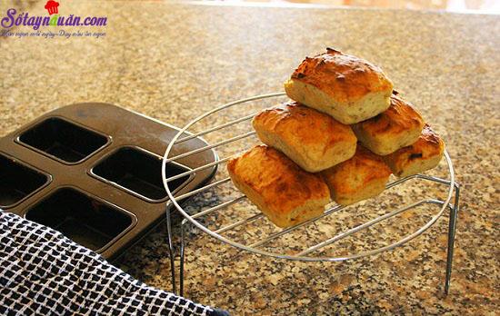 cách làm bánh chuối nướng 8