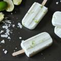 cách làm kem hoa quả, cách làm kem chanh dừa 6