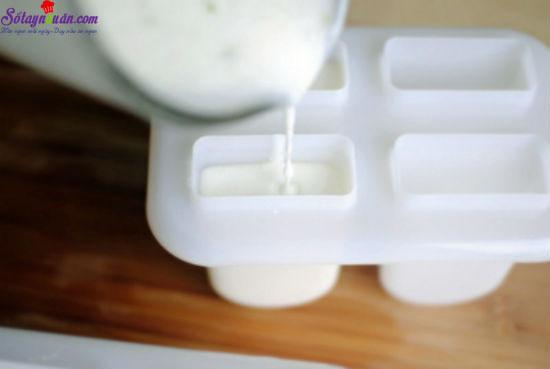 cách làm kem chanh dừa 4