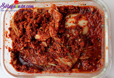 Mẹo làm kimchi không bị hăng tí nào luôn 5