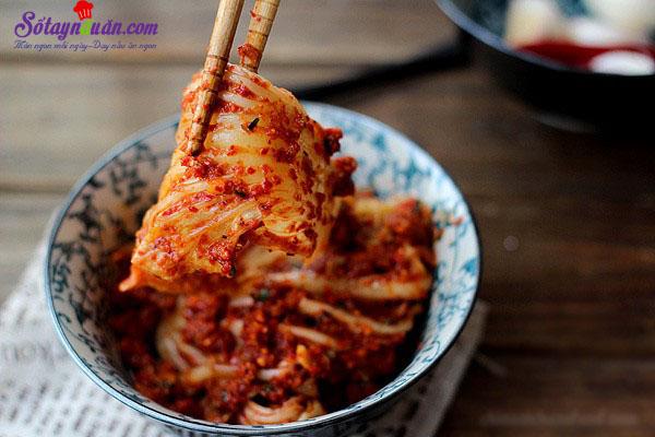 Mẹo làm kimchi không bị hăng tí nào luôn kết quả