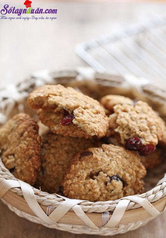 cách làm bánh quy yến mạch 6