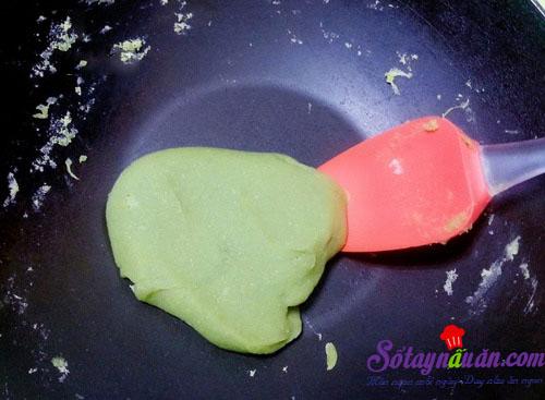 Bánh trung thu nhân trà xanh thơm ngon cho tết thiếu nhi 6