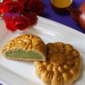 Cách làm bánh trung thu nhân khoai môn, Bánh trung thu nhân trà xanh thơm ngon cho tết thiếu nhi kết quả