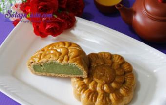 Nấu ăn món ngon mỗi ngày với Phần nhân bánh, Bánh trung thu nhân trà xanh thơm ngon cho tết thiếu nhi kết quả