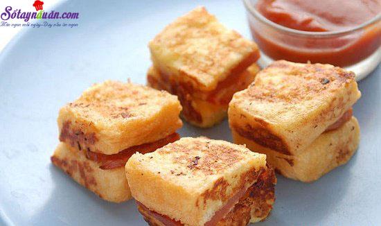 cách làm bánh phô mai xúc xích chiên 5